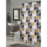 Extra Long Metro Fabric Shower Curtain