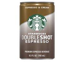 (8 Cans) Starbucks Doubleshot Espresso & Cream, 6.5 Fl Oz