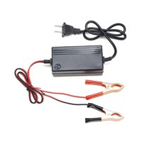 Portable 12V Trickle Charger Battery Maintainer for Tender Motorcycle Car Boat ATV