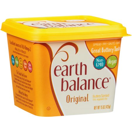 Earth Balance Natural Buttery Spread, 15 oz - Walmart.com 6cda3ae544