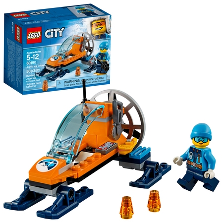 LEGO City Arctic Expedition Arctic Ice Glider 60190 (Lego Game Chair)