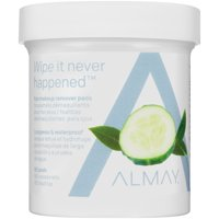 Almay longwear & waterproof eye makeup remover pads, 80 cts