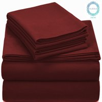 Auraa Comfort 100% Cotton Flannel King Sheet Set