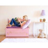 Wildkin Princess Bench Seat w/ Storage