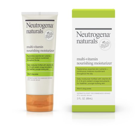 Neutrogena Naturals Multi-Vitamin Daily Face Moisturizer, 3 fl.