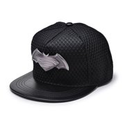 fc7878c8700ec Batman Vs Superman Metal Logo Adjustable Size Official Snapback Cap