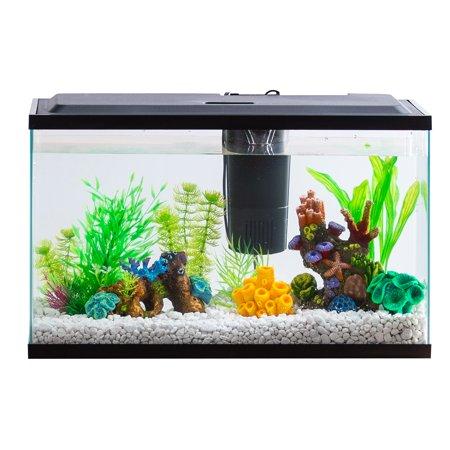 Aqua Culture 10 Gallon Aquarium Starter Kit With Led Lighting