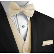 04a260cb25a2 Italian Design, Men's Formal Tuxedo Vest, Bow-Tie & Hankie Set for Prom