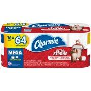 Charmin Ultra Strong Toilet Paper, 16 Mega Rolls