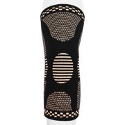 933a51b04c Copper Infused Elastic Knee Compression Sleeves Joint Injury Recovery Aid  Arthritis Pain Relief Brace Leg Sports
