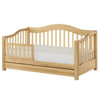 Dream on Me Toddler Day Bed with Storage, Natural