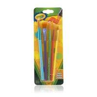 Crayola Paint Brush Set, 5 Brushes in Multiple Shapes