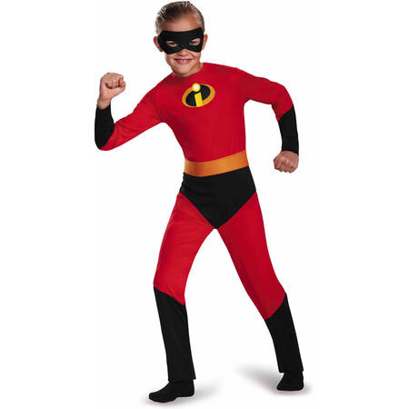The Incredibles Dash Classic Child Halloween Dress Up / Role Play Costume - Group Halloween Movie Costume Ideas