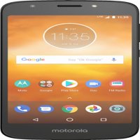 Boost Mobile Motorola Moto E5 Play 16GB Prepaid Smartphone, Black