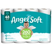 Angel Soft Toilet Paper, 24 Double Rolls