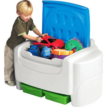 Childrens Toy Box - Little Tikes Sort 'N Store Toy Chest