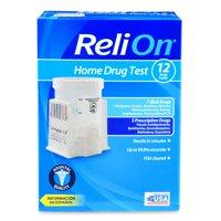 ReliOn Home Drug Test, 12 Drugs Tested