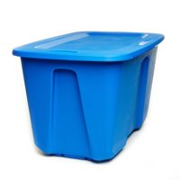 Homz 32 Gallon Storage Container, set of 2