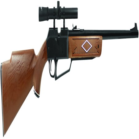 Paintball Sniper Rifle (Daisy Powerline 880 Air Rifle, .177 cal, with Scope)