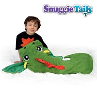 Snuggie Tails Soft, Cuddly Blanket, Green Dragon As Seen On Tv