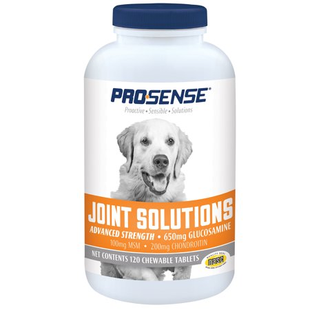 - Pro-Sense Advanced Strength Glucosamine Chews for Dogs, 120 Tablets