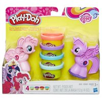 Play-Doh My Little Pony Cutie Mark Creators Set with 4 Cans of Dough