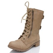 446d4d5f3622 Soda Dome Mid Calf Height Women s Military   Combat Boots
