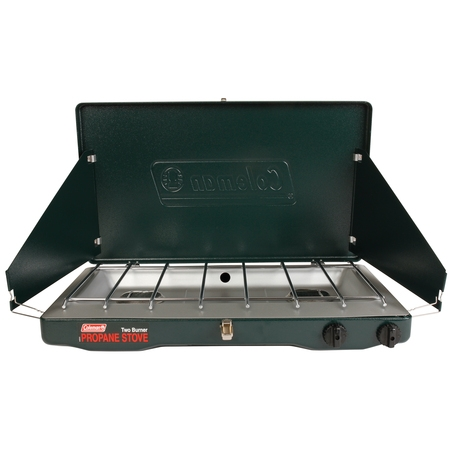 Coleman Portable Propane Gas Classic Stove with 2 (Best Stainless Steel Gas Stove)