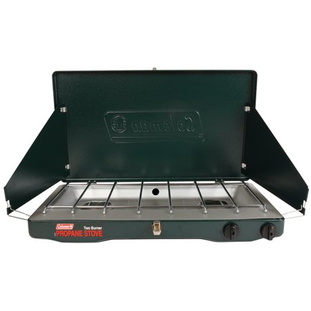 Coleman Portable Propane Gas Classic Stove with 2 Burners (Jet Burner Outdoor Cooker)