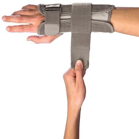 Ace Wrist Brace - Mueller Reversible Wrist Stabilizer, Beige, Large/Extra Large