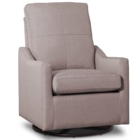 Delta Children Kenwood Nursery Glider Swivel Rocker Chair, French Grey