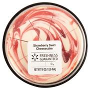 The Bakery At Walmart Signature Strawberry Swirl Cheesecake, 16 oz