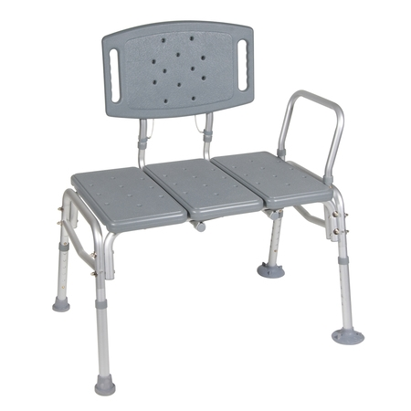 Drive Medical Heavy Duty Bariatric Plastic Seat Transfer
