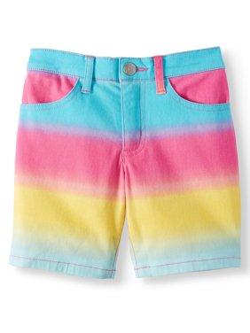 Girls' Printed Twill Bermuda Short
