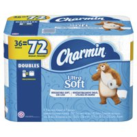 Charmin Ultra Soft Toilet Paper, 36 Double Rolls