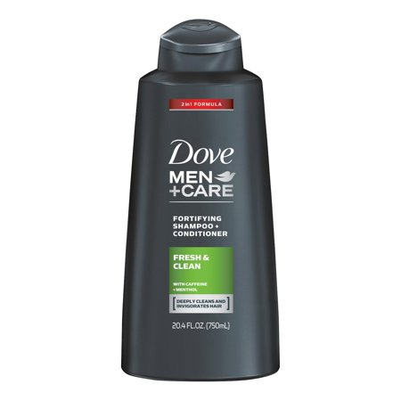 4in 1 Shampoo (Dove Men+Care 2 in 1 Shampoo and Conditioner Fresh and Clean 20.4 oz )