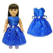 f39f6ec149ca Doll Clothes - Beautiful Blue Dress Outfit Fits American Girl Doll
