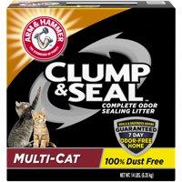 Arm & Hammer Clump & Seal Litter, Multi-Cat 14lb