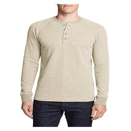 Eddie Bauer Men's Basin Long-Sleeve Henley Shirt Eddie Bauer Short Sleeve Shirt