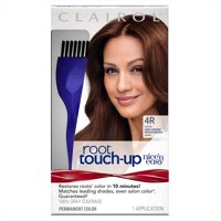Clairol Nice 'n Easy Root Touch-Up Permanent Hair Color, 4R Dark Auburn