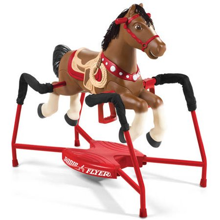 Radio Flyer, Blaze Interactive Spring Horse, Ride-On with Sounds ()