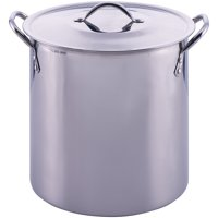 Mainstays 12 Quart Stockpot with Lid, Stainless Steel