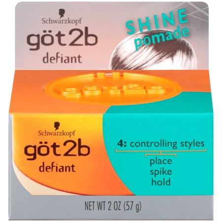 Got2B Defiant Define & Shine Hair Pomade, 2 Ounce
