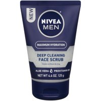 NIVEA Men Maximum Hydration Deep Cleaning Face Scrub 4.4 oz.