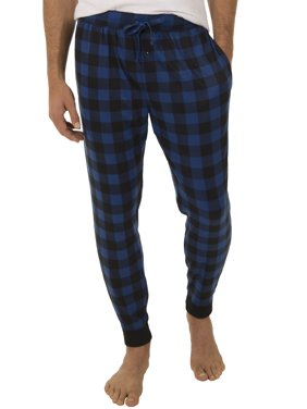 Fruit of the Loom Men's Poly Waffle Jogger Sleep Pant