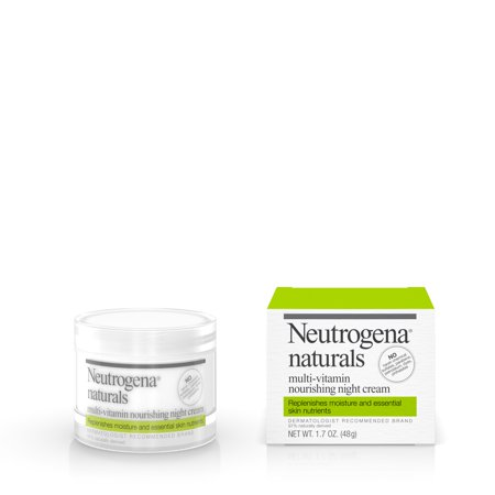 Neutrogena Naturals Multi-Vitamin Nourishing Night Face Cream, 1.7 oz