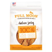 Full Moon All Natural Human Grade Dog Treats, Chicken Jerky, 12 Ounce
