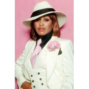 Tina Turner Fedora Hat Stylish Outfit Fedora Hat White Jacket 1985 24X36  Poster a210368493e7