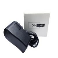 OMNIHIL AC/DC Adapter/Adaptor for Nautilus R514, R514c, R616, R614, U514, U614, U616 Exercise Bike & E514, E514C, E614, Elliptical Power Supply Cord Cable PS