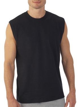 Men's Platinum EverSoft Muscle Shirt, up to Size 4XL